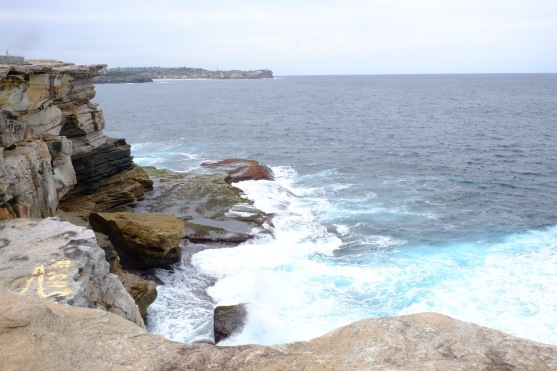 View of the Sydney coastline