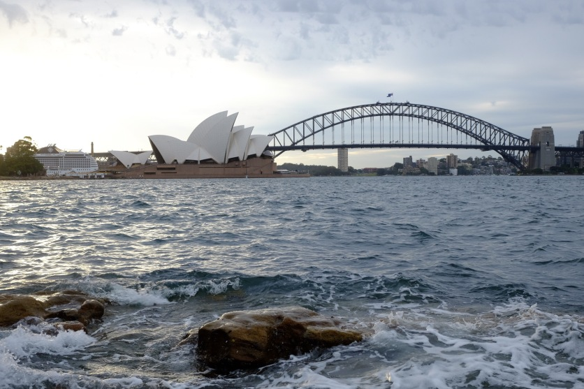 View from Mrs. Macquarie's Chair