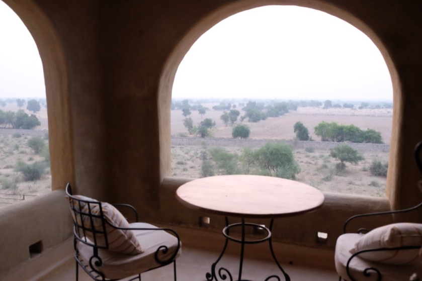 The Suite Sit-Out in the luxurious Mihirgarh at Jaisalmer