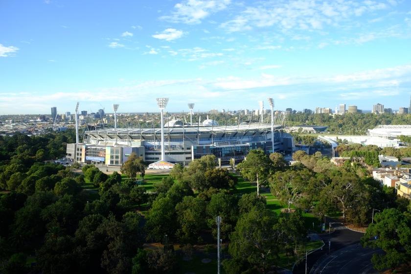 Melbourne Cricket Ground External View