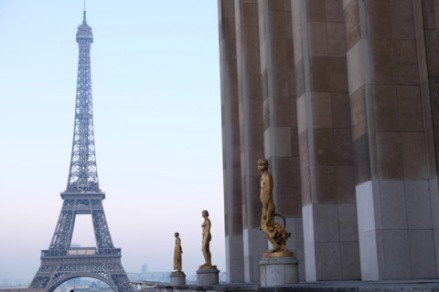 Arguably, the best view of the Eiffel Tower is from Place de Trocadéro, Paris.