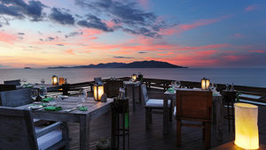 Dining on the Rocks, Six Senses Samui, Koh Samui, Thailand