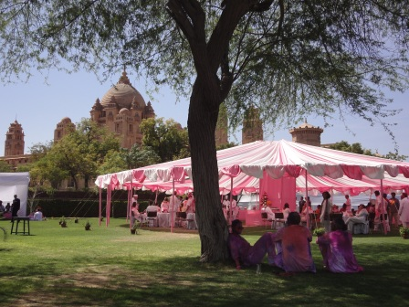 Royal, classy and colourful - Holi at the Umaid Bhawan Palace, Jodhpur