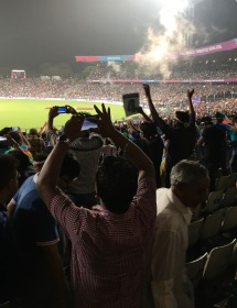 Capturing the moment - Eden Gardens, Kolkata, India. T20 World Cup, 2016.