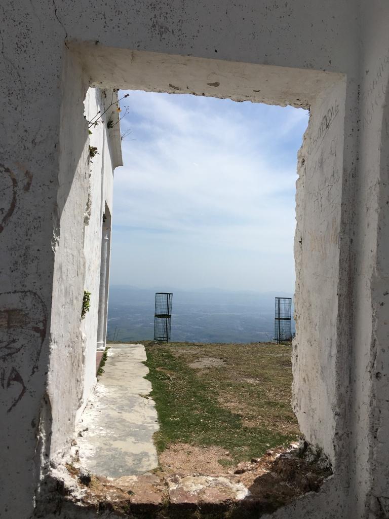 A window to the hills - Everest Estate, Mussoorie, Uttarakhand, India