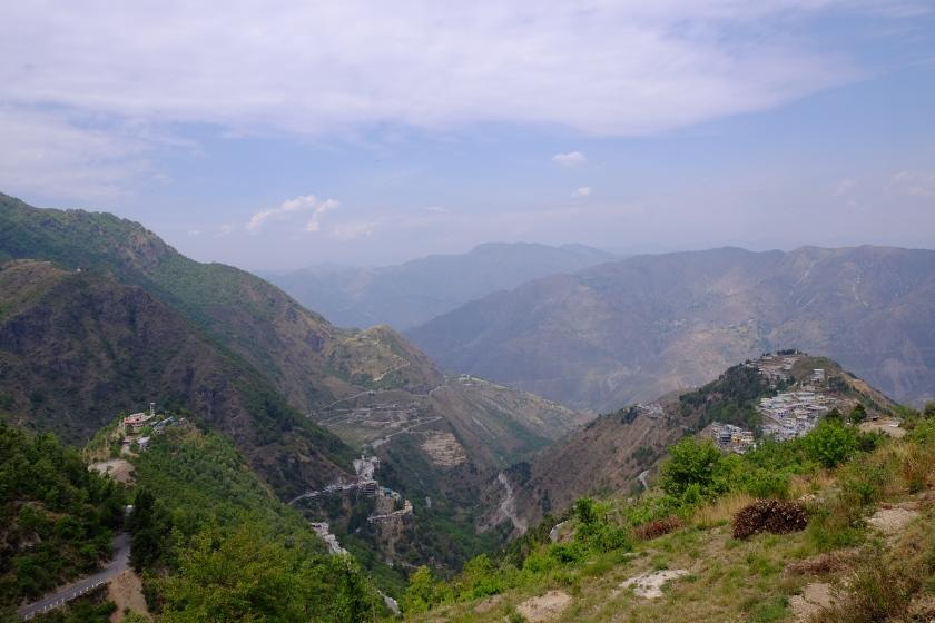 Approach to Mussoorie - Uttarakhand, India