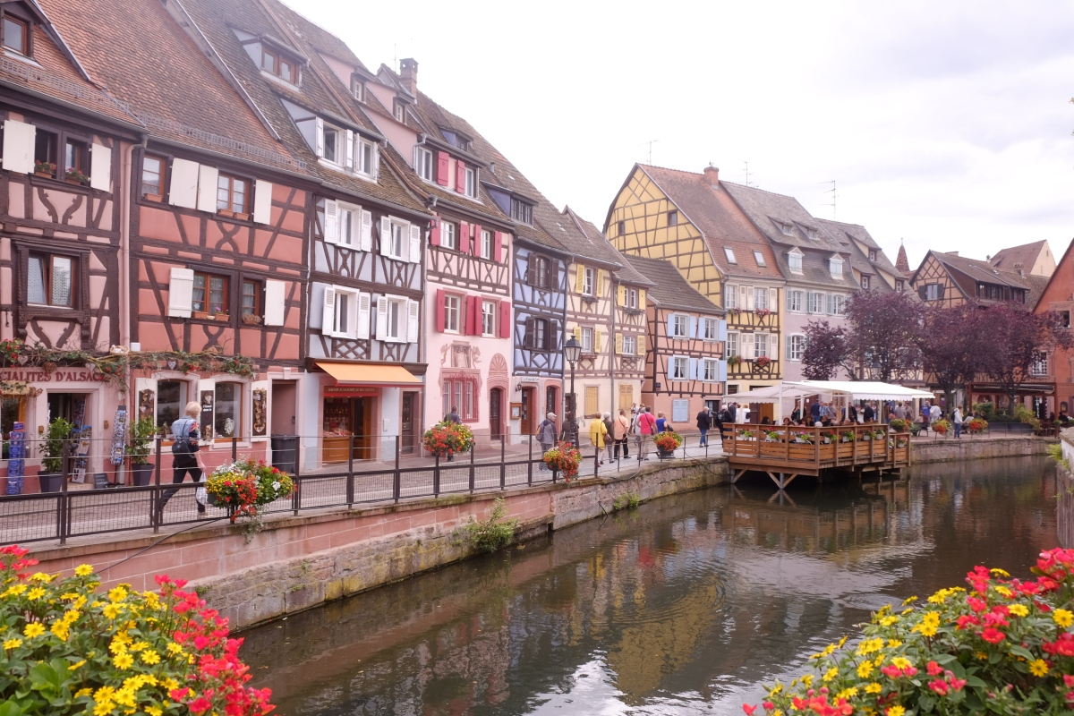 Walking in Colmar