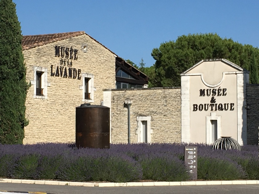 Lavender museum in Coustellet, Provence