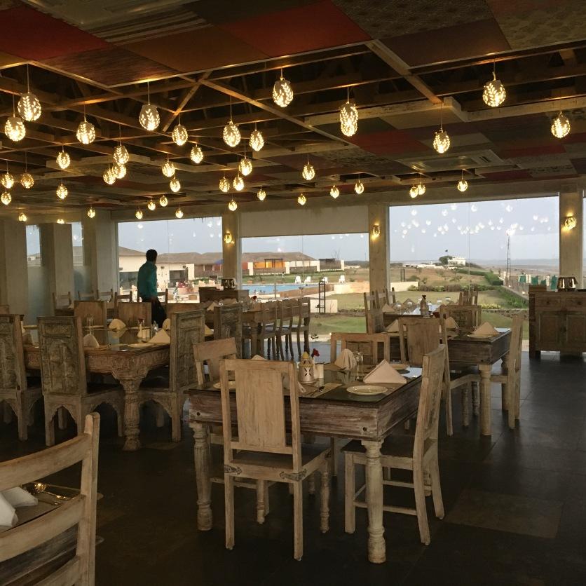 Serena Beach Resort Restaurant in Mandvi