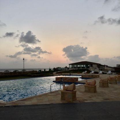 Infinity pool at Serena Beach Resort