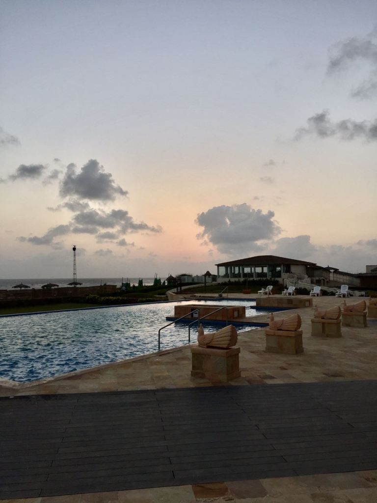 Infinity pool at Serena Beach Resort